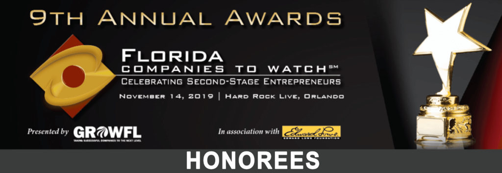 "OIT named to Top 50 ""Florida Companies to Watch"" award"