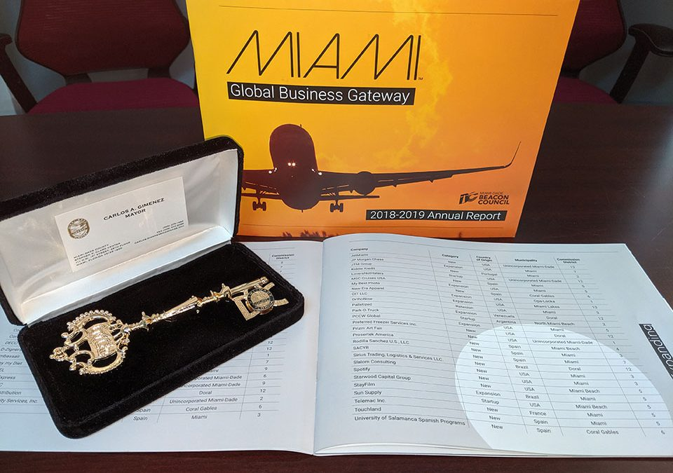 OIT Presented with Key to Miami-Dade County